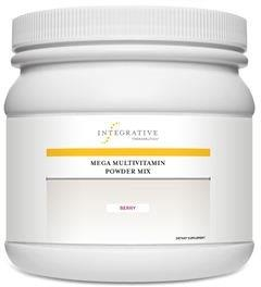 Mega Multivitamin Powder Mix (Formerly Known as Living Multivitamin Berry Flavored Powder)