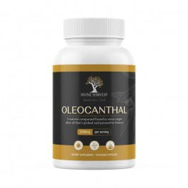 Dr. Colbert's Oleocanthal | Powerful Antioxidant Concentrated from High-Phenolic Extra Virgin Olive Oil |