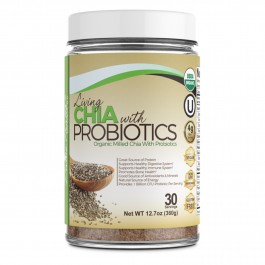 Divine Health® Living Milled Chia With Probiotics