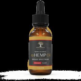 Dr. Colbert's Nano-Science Hemp Oil   1000mg   Broad Spectrum   Cinnamon Flavor  