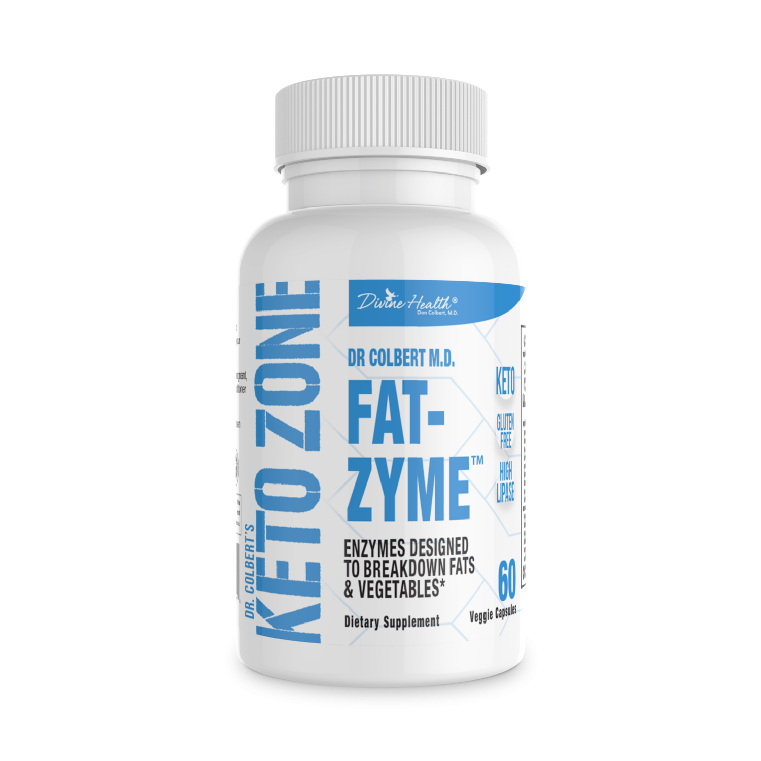 Keto Zone Fat-Zyme® (An Enyzme Designed for the Keto Zone Diet)