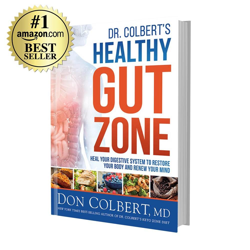 Dr. Colbert's Healthy Gut Zone (Hardcover)