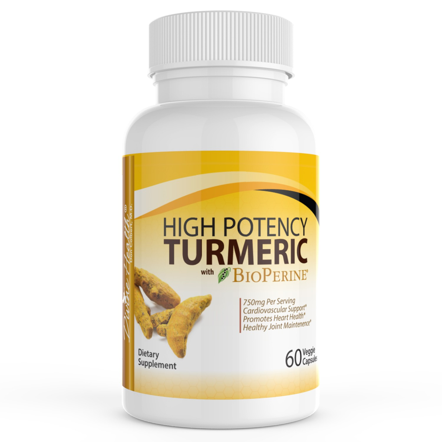 High Potency Turmeric With Bioperine