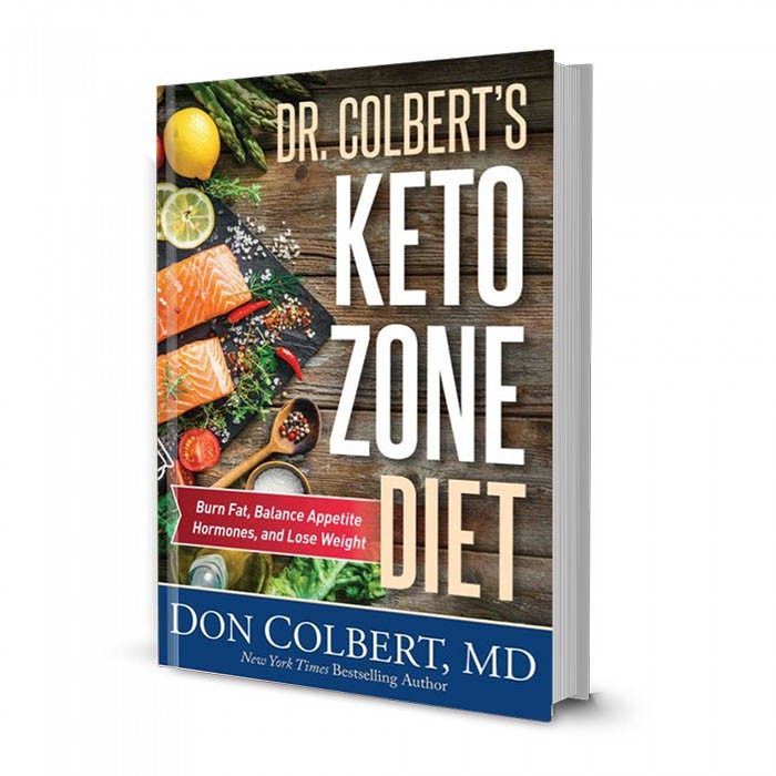 Dr. Colbert's Keto Zone Diet Book