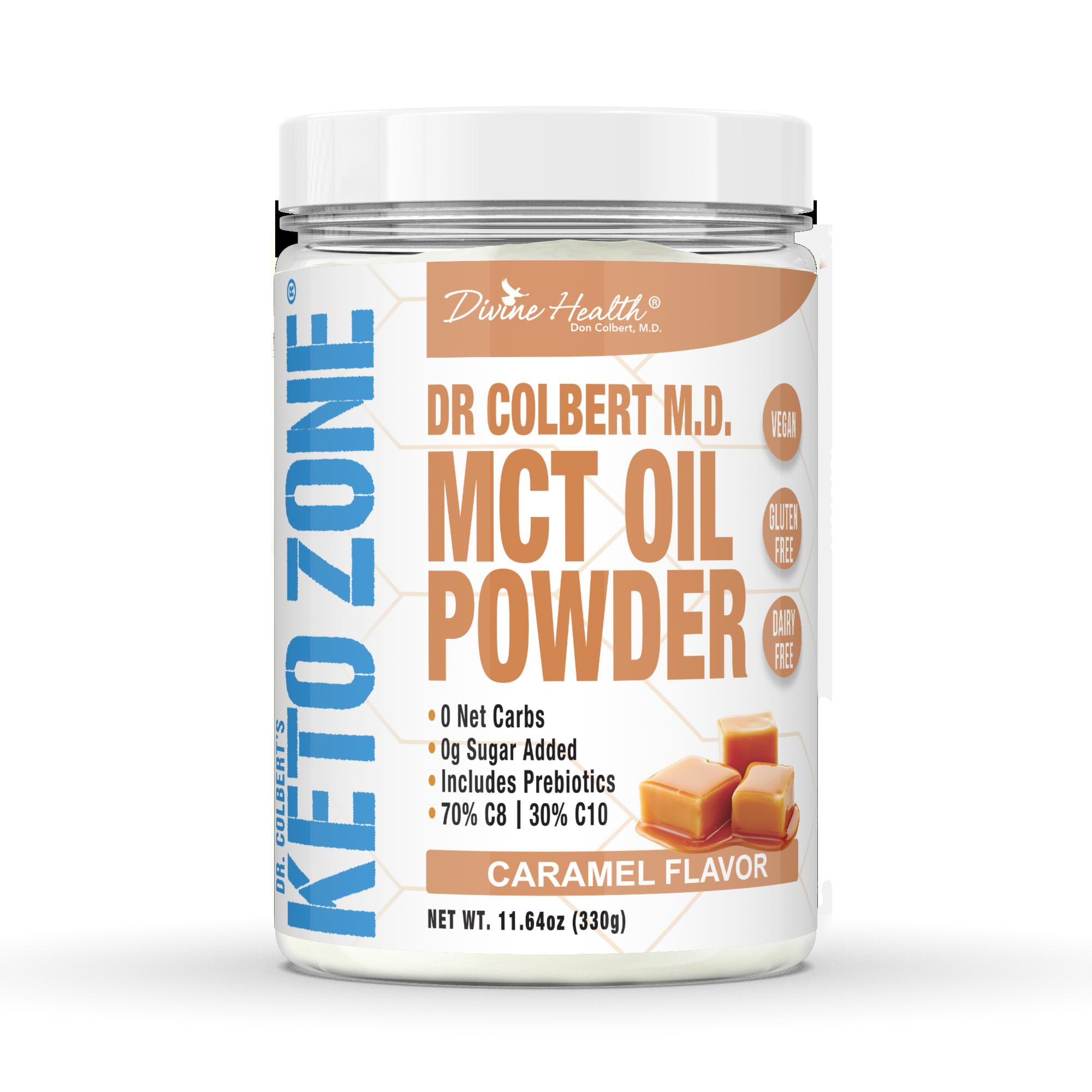 Keto Zone® MCT Oil Powder (Caramel)