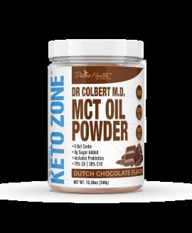 Keto Zone® MCT Oil Powder | Dutch Chocolate |