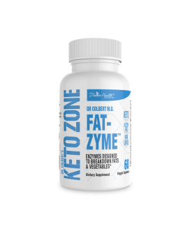 Keto Zone® Fat-Zyme® (An Enyzme Designed for the Keto Zone Diet)