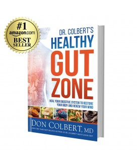 Dr. Colbert's Healthy Gut Zone (Hardcover)