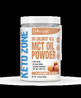 Keto Zone® MCT Oil Powder | Caramel |