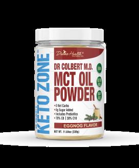 Keto Zone® MCT Oil Powder (Eggnog)