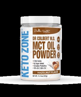 Keto Zone® MCT Oil Powder | Hazelnut |