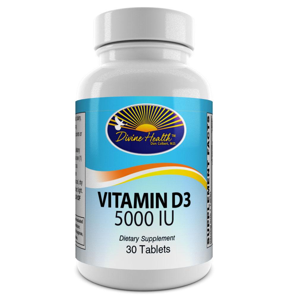 Vitamin D3 - 5000iu