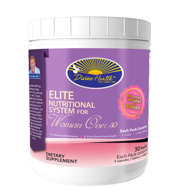 Updated Formula! Elite Nutritional System for Women Over 50 (30 Packs)