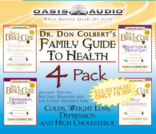 Dr Colberts Family Guide to Health (4 Compact Disk Set)