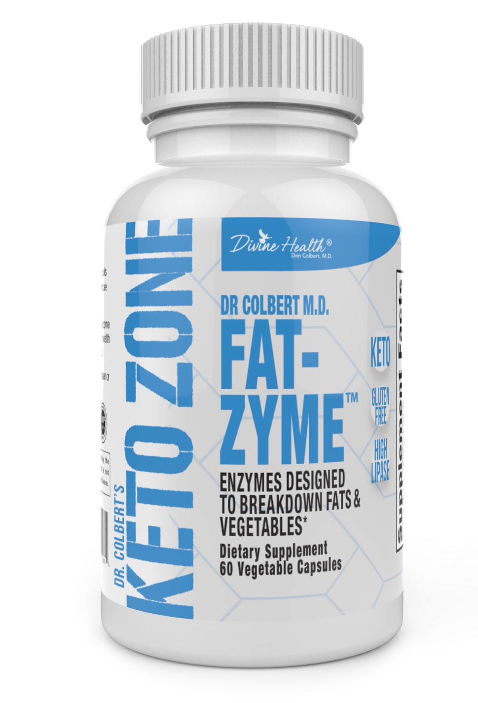 Keto Zone Fat-Zyme® (An Enyzme Designed for the Keto Zone® Diet)