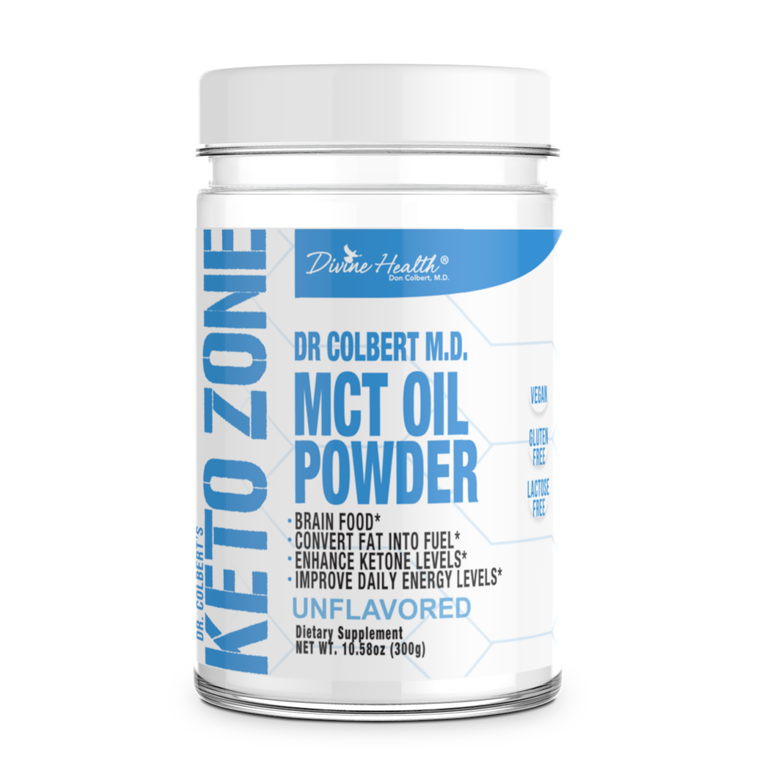 New ! Keto Zone MCT Oil Powder (Unflavored)