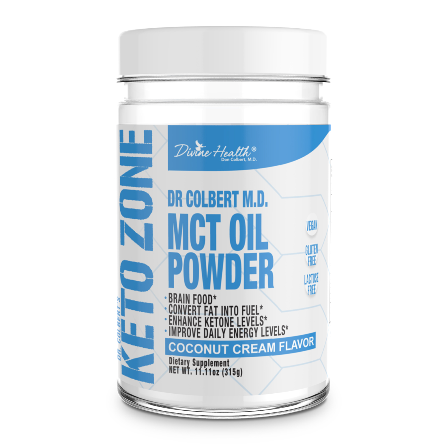Keto Zone MCT Oil Powder (Coconut Flavor)
