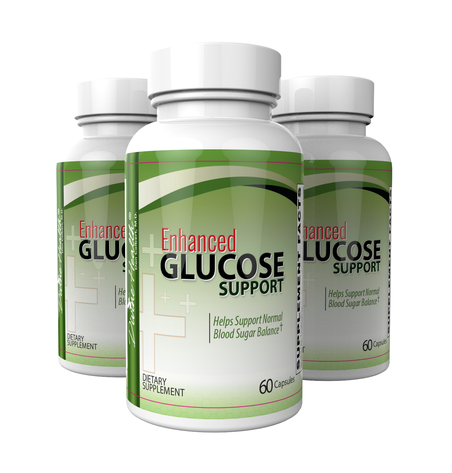 Enhanced Glucose Support (3 Bottles 60 Day Supply)