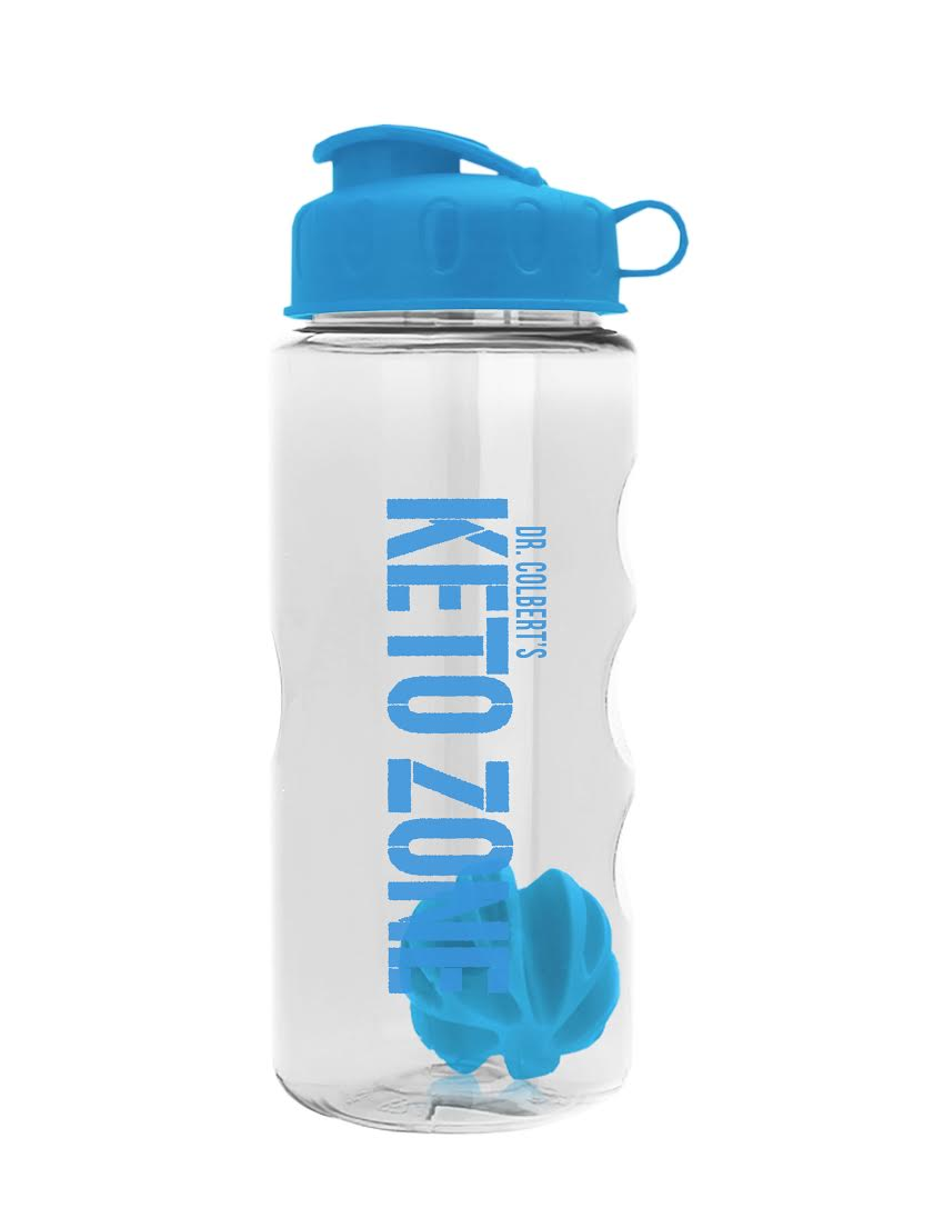 New! Keto Zone Shaker Bottle