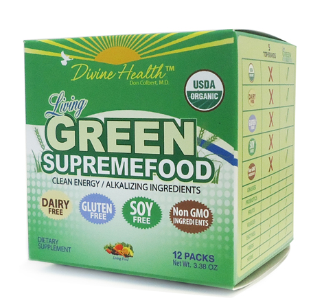Living Green Supremefood Cubes (12 packs)