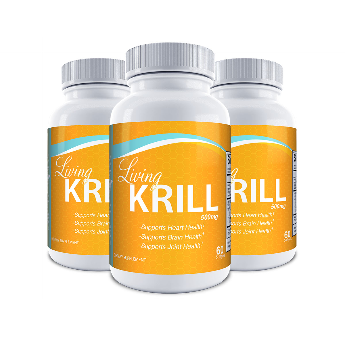 Living Krill Oil - 90 Day Supply