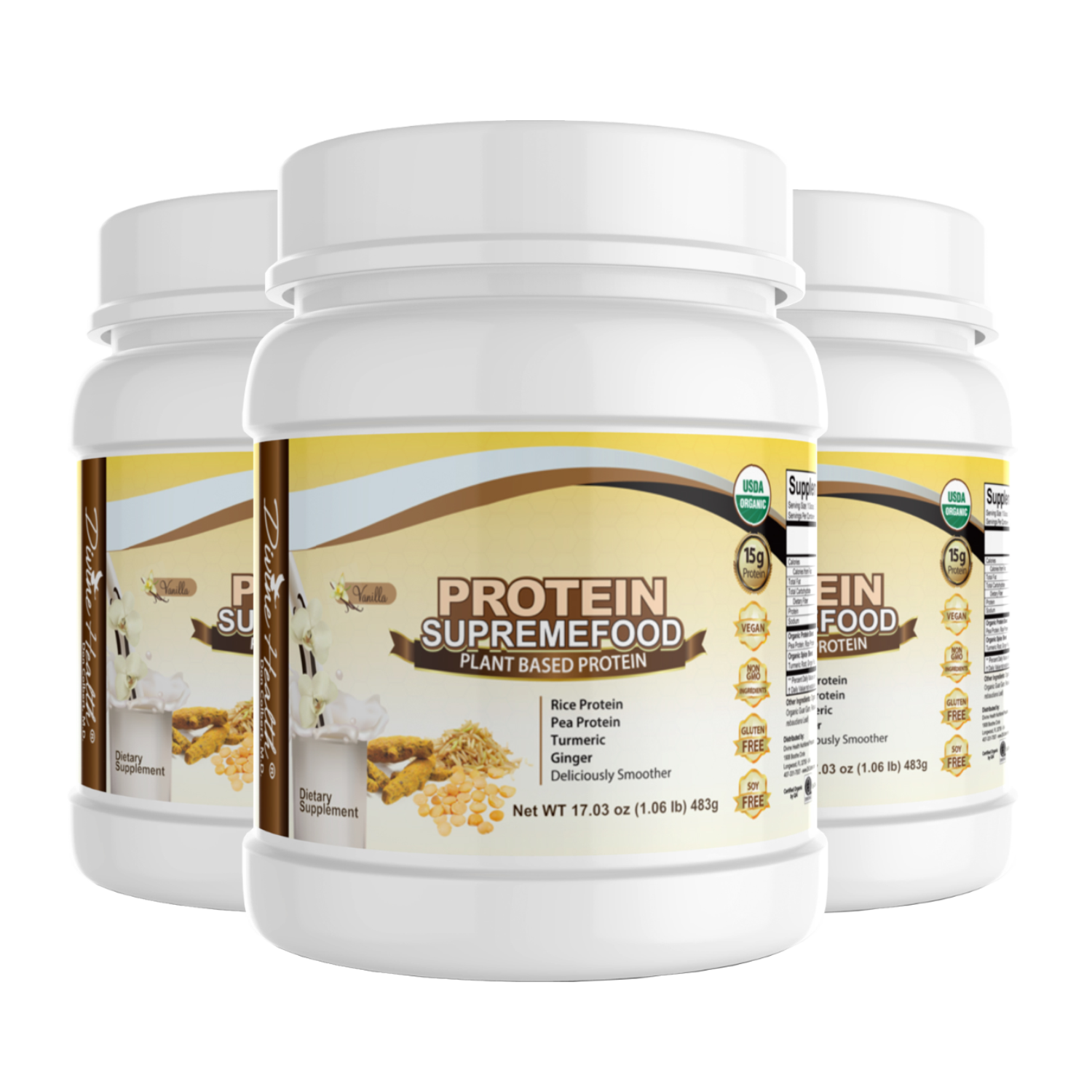Protein Supremefood® (90 Day Supply) (1,449 Grams)