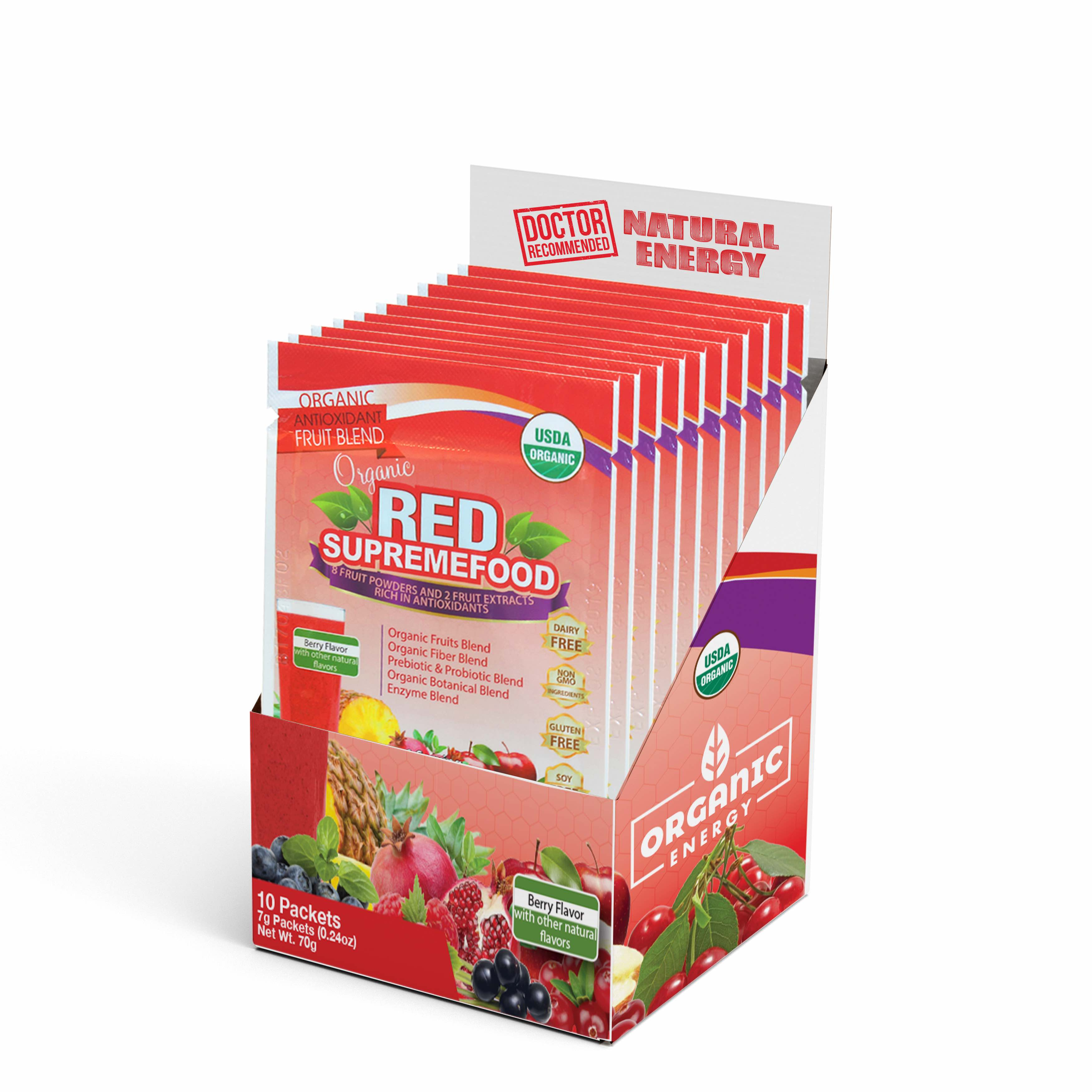 Red Supremefood® Sachet – (10 Pack)