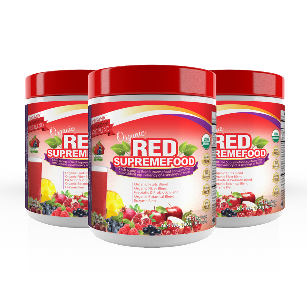 Red Supremefood® (90 day supply)