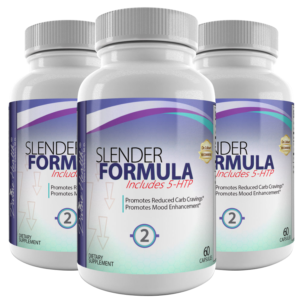 Slender 2 Formula (Formerly Known As Evening Appetite Suppressant) (90 Day Supply)