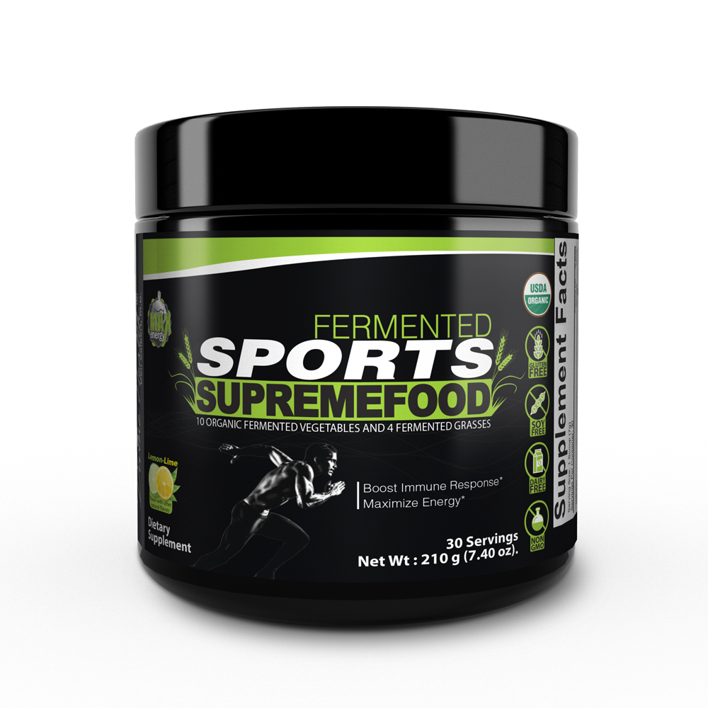 Fermented Sports Supremefood® - Lemon-Lime (30 Day Supply)