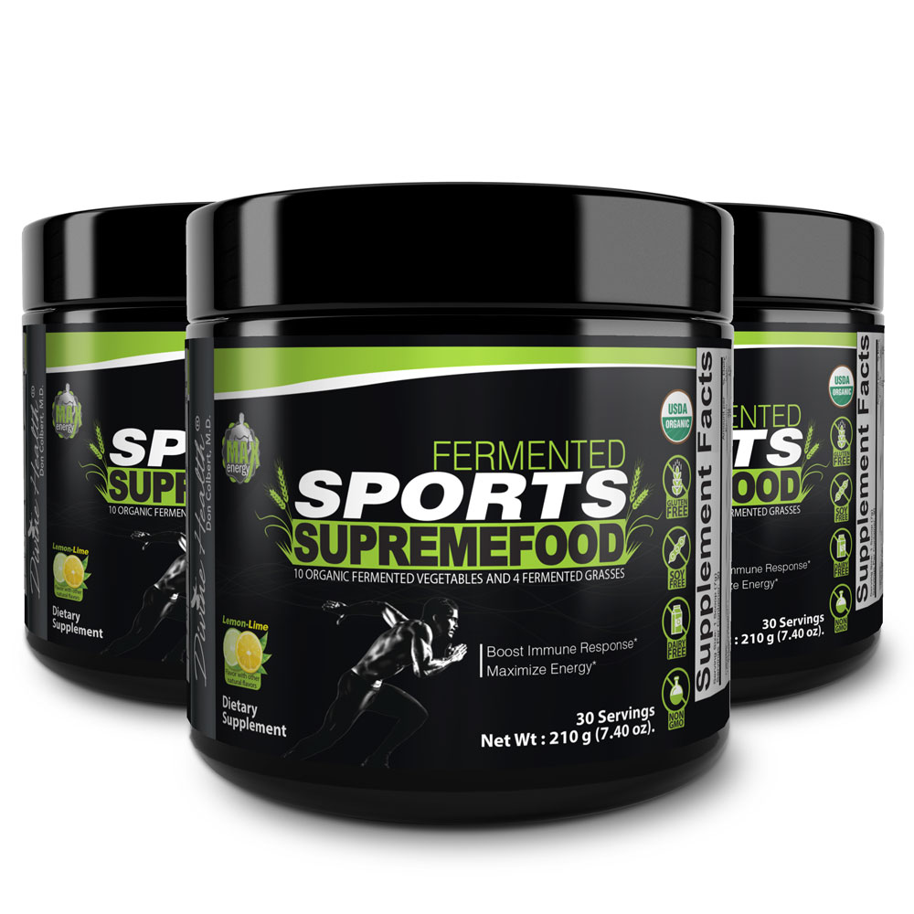 Fermented Sports Supremefood® – Lemon-Lime (90 Day Supply)