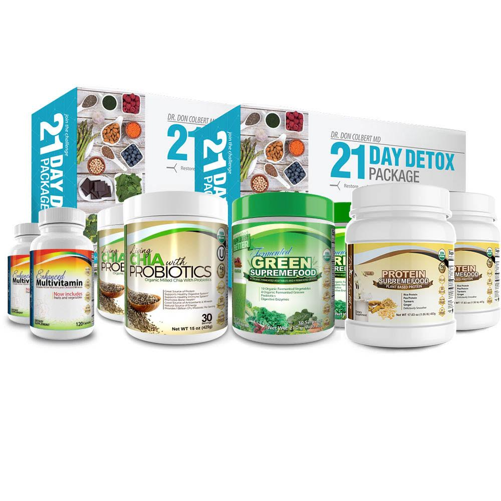 Couples 21 Day Detox Package