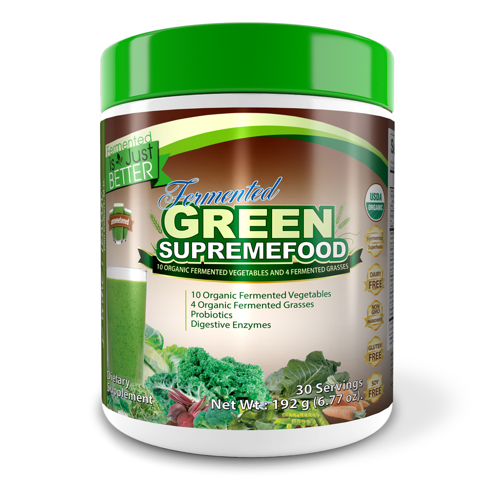 Fermented Green Supremefood® (Unsweet)