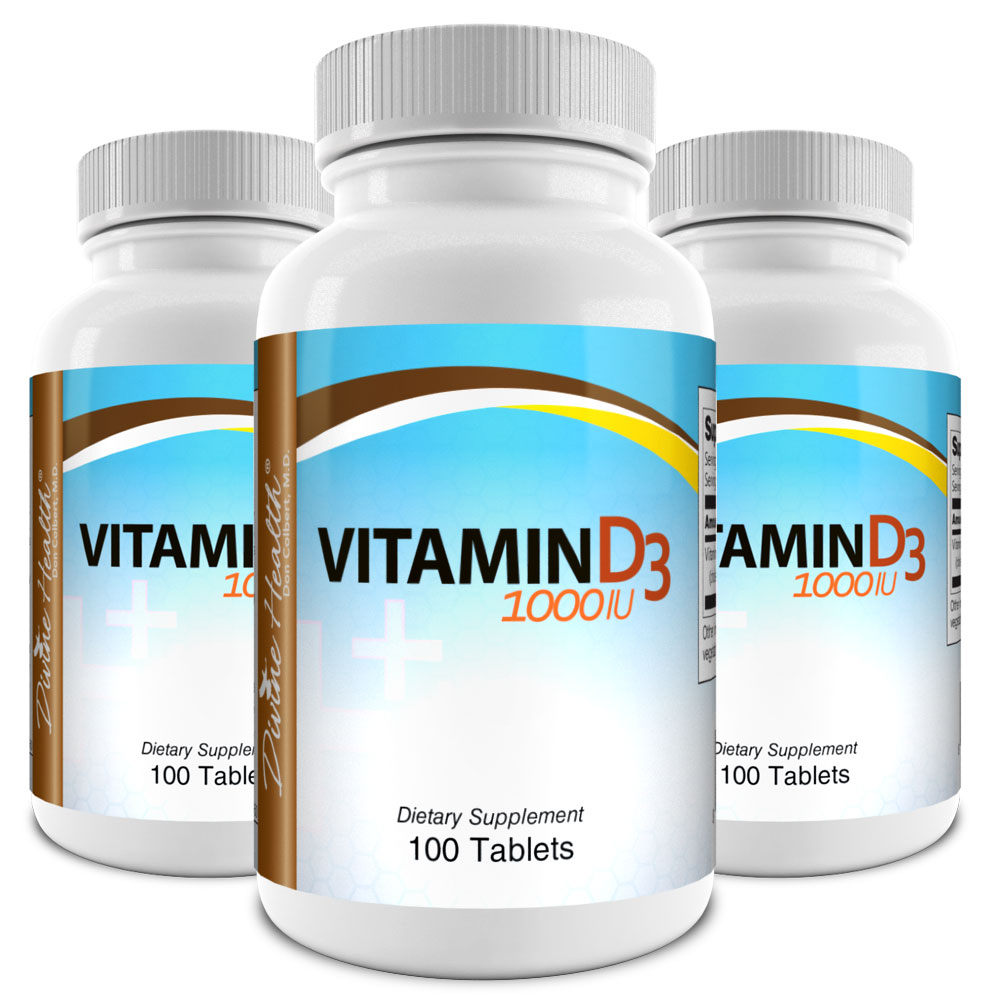 Vitamin D3 - 1000iu (90 Day Supply)