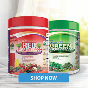 Green Supremefood and Red Supremefood