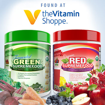 Green Supremefood and Red Supremefood Now Available at The Vitamin Shoppe